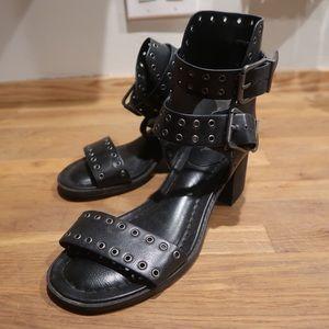 MIA gladiator midi heel sandal